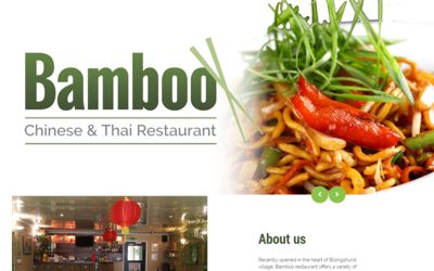 Bamboo | Chinese & Thai Restaurant Billingshurst - website design & SEO from A Clear Web Worthing