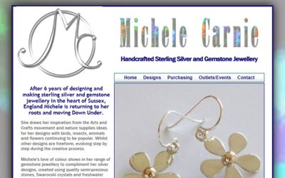 Michele Carnie - website design from A Clear Web Worthing