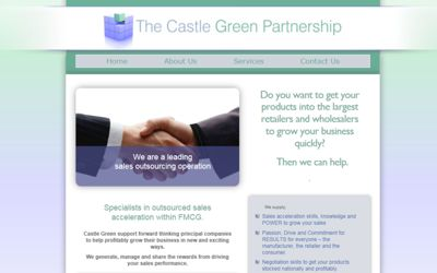 The Castle Green Partnership - website design from A Clear Web Worthing