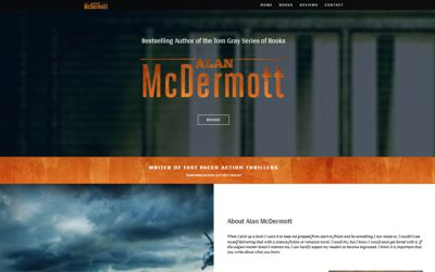 Alan McDermott | Bestselling Author of the Tom Gray Series of Books - website design from A Clear Web Worthing
