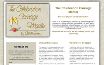 The Celebration Carriage Master